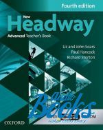 Richard Storton - New Headway Advanced Teacher's Book with Teacher's Resource CD-ROM, Fourth Edition (книга + диск)