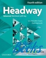 Paul Hancock - New Headway Advanced Workbook with Key and iChecker CD-ROM, Fourth Edition (книга + диск)
