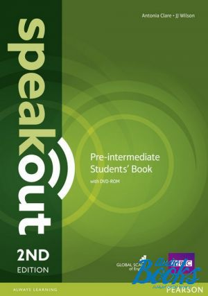 "Book + cd ""Учебник Speak Out Pre-Intermediate Student´s Book with DVD, Second Edition"" - J. J. Wilson, Antonia Clare"