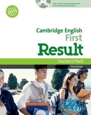 "книга + диск ""Cambridge English First Result Teacher´s Book with DVD-ROM"" - David Baker"