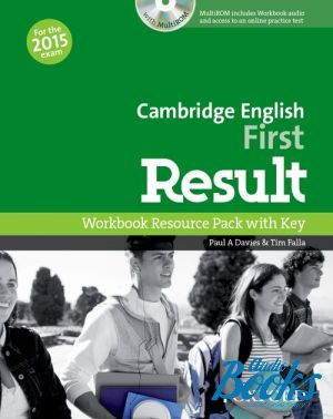 "книга + диск ""Cambridge English First Result Workbook with Key with CD-ROM"" - Tim Falla, Paul A. Davies"