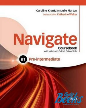 "книга + диск ""Navigate Pre-Intermediate B1 Coursebook with DVD-ROM and OOSP"""