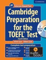 Jolene Gear - Cambridge Preparation TOEFL Test 4th Edition Book with CD-ROM (книга + диск)