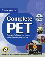 Peter May - Complete PET Students Book with answers with CD-ROM (книга + диск)