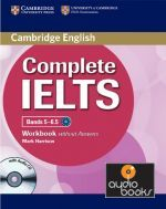 Mark Harrison - Complete IELTS Bands 5-6.5 Workbook without Answers with Audio CD (книга + диск)