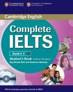 Брук-Харт - Complete IELTS Bands 4-5 Students Book without Answers (книга + диск)