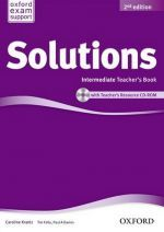 Caroline Krantz - New Solutions Intermediate Second edition: Teacher's Book and CD-ROM (книга для учителя) (книга + диск)