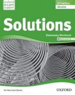 Tim Falla - New Solutions Elementary Second edition: Workbook with CD-ROM (тетрадь / зошит) (книга + диск)