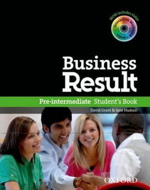"книга + диск ""Business Result Pre-Intermediate: Student's Book with DVD-ROM (учебник / підручник)"" - Kate Baade, Michael Duckworth, David Grant"