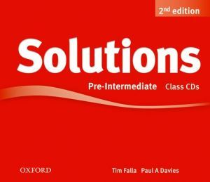 "диск ""New Solutions Pre-Intermediate Second edition: Class Audio CD"" - Tim Falla, Paul A. Davies"