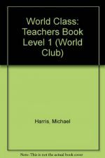 Michael Harris - World Class 1 Teacher's Book (книга учителя) (книга)