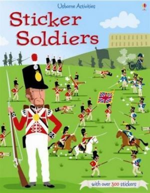 "The book ""Sticker Soldiers"" - Луи Стоуэлл"