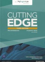 Jonathan Bygrave - Cutting Edge Pre-Intermediate Third Edition: Student's Book with DVD and MyEnglishLab (учебник / підручник) (книга + диск)